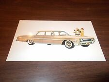 1961 Oldsmobile Super 88 Celebrity Sedan Advertising Postcard