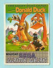 Bollycao Portugese Sega Game Gear Sticker Disney Donald Duck Lucky Dime Caper