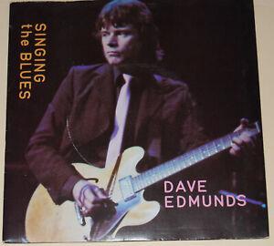 "Dave Edmunds-Singing The Blues-1980 Mint Vinyl 7""-Swan Song SSK 19422"