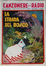 CANZONIERE della RADIO 1943/60-La strada del bosco-design Roveroni-Messaggerie