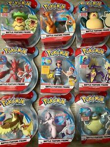 Pokemon 4.5 Inch Battle Feature Figure CHARIZARD, BLASTOISE, TOXTRIXITY, PIDGEOT