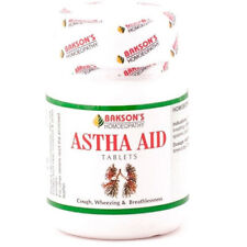 Pack of 5 Homeopathic Bakson Astha Aid 75 Tablets Free Shipping
