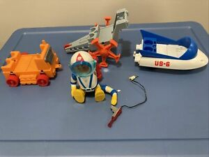 Billy Blastoff. 1968 Eldon. Space Toy Set With Accessories.
