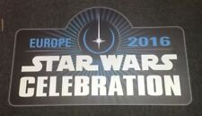 Star Wars Celebration Europe London Rare Collectable Stand Display Sign