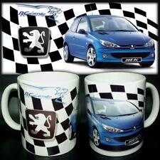 tazza mug PEUGEOT 206 RC sport rally car scodella ceramica
