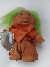 Retro Vintage 1986 DAM Troll green hair