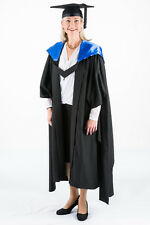 University Academic Hood Graduation Masters Fully Lined with Blue