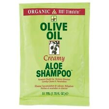 12 ORS Olive Oil Creamy Aloe SHAMPOO Cleansing Moisture Travel Packets 1.75oz
