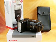 Canon Speedlite 420 EX f. digitale Kameras zB Canon EOS-Serie klein u. schnell