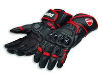 DUCATI Alpinestars SPEED EVO C1 Racing Leder Handschuhe Gloves schwarz NEU