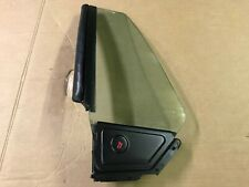 87-93 Ford Mustang Convertible Quarter Glass Window Drivers LH CARLITE OEM