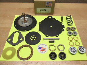 1957 MERCURY TURNPIKE CRUISER NEW DOUBLE ACTION FUEL PUMP KIT FOR MODERN FUELS