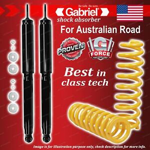 Rear Gabriel Ultra Shocks + King Coil Springs for BMW 3 Series E30 323 45mm OD
