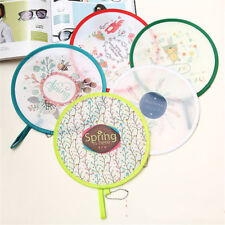 Portable Round Japanese Style Folding Fans Hand Fan for Wedding Party JP