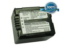 7.4V battery for Panasonic NV-GS27EG-S, NV-GS30, SDR-H200, NV-GS27, VDR-D310EB-S