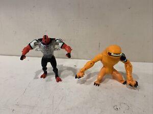 "Ben 10 Wildmutt Orange Alien 4"" Action Figure 2006 Bandai CN Series 2"