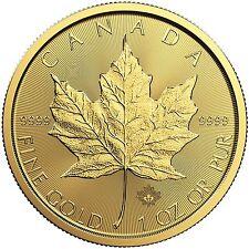 2017 1oz Canada Gold Maple Leaf BU