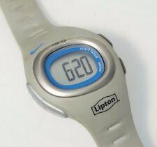 Nike SM0013 Triax C3 Watch Digital Black Rubber Strap Gray Lipton