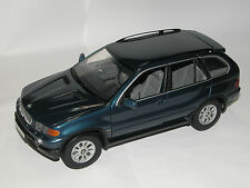 Kyosho 80439411688, bmw x5 3.0 D, 2001, metalizado azul, 1/18 dealer Edition OVP