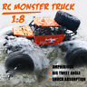 1:8 RC Car Monster Truck Remote Control Amphibious IP66 Waterproof Off-Road US