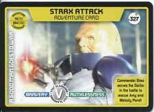 Doctor Who Monster Invasion Extreme Card #327 Strax Attack