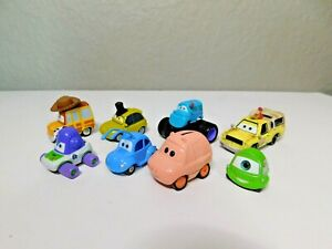 Disney Pixar Cars Lot - Pizza Planet, Monsters Inc, Toy Story, A Bug's Life