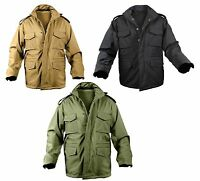 Military Soft Shell Tactical M-65 Field Jacket Rothco 5247 5244 5744