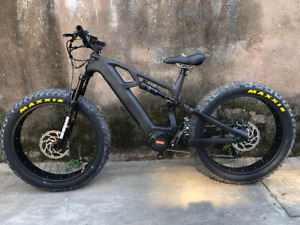 Carbon Fibre Electric Fat Bike