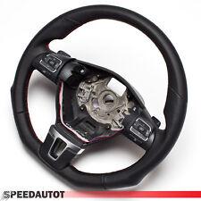 Cambio Tuning Volante de Cuero VW Passat B7 Multifunción DSG 3C8419091 Rojo