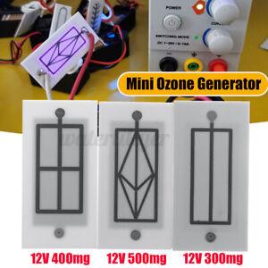 12V Mini Ozone Generator Air Purifier DC 12V Home Air Cleaner Portable Whit