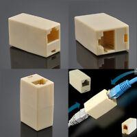 1PC RJ45 CAT 5 5E Ethernet Lan Cable Extender Joiner Coupler Connector Plug NEW