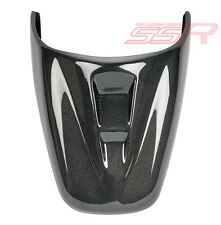Triumph Speed Triple Rear Tail Passenger Seat Cowl Cover Fairing Carbon Fiber