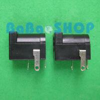 10pcs 5.5mm 2.1mm Female Jack Socket DC Power Plug New