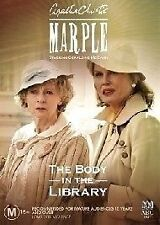 MARPLE=THE BODY IN THE LIBRARY DVD=ABC=REGION 4 AUSTRALIAN RELEASE=NEW & SEALED