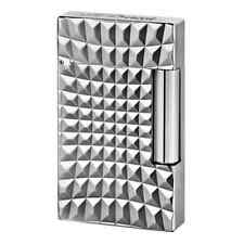 S.T. Dupont Zoom Ligne 2 Palladium Lighter, # 16619, New In Box