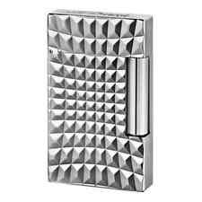 S.T. Dupont Zoom Ligne 2 Palladium Lighter, # 16619, New In Box