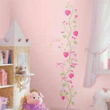 Little Princess GROWTH CHART Wall Decals Stickers Removable 15 pice set 167cm H