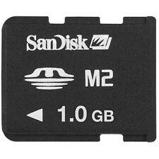 NEW OEM SANDISK1GB MICRO MEMORY STICK M2 CARD SONY ERICSSON W508 W880 W900