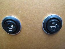 2 pcs seat heater switch,universal round heated seat switch,Hi-off-Low.