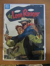 THE LONE RANGER COMIC BOOK - VOL. 1, NO. 81 - MARCH 1955 - DELL - PAINTED COVER