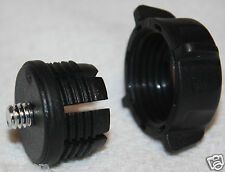 Retainer Wing Nut & Adapter for Camera Flip Video Cam and Fits Garmin 17mm Ball