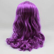 "Takara 12"" Neo Blythe Doll RBL Purple Hair Scalp & Dome With Bang"