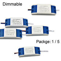3W 5W 6-7W 7-15W Driver LED Constant Current Dimmable Lot 260-300mA Transformer