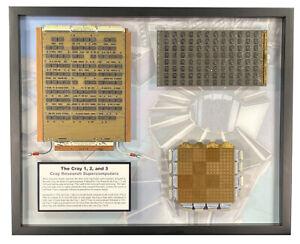 Cray Research Supercomputer Circuit Boards - Cray-1, Cray-2, and Cray-3