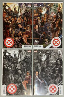 4 Book Lot🔥House of X #1 Powers of X #1🔥NM(9.4)+  Brooks Connecting Variants