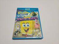 SpongeBob SquarePants: Plankton's Robotic Revenge (Nintendo Wii U) Complete CIB