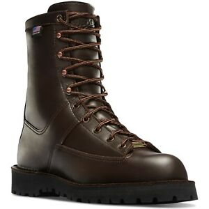 """Danner 58900 Men's Hood Winter Light 8"""" Brown Insulated 200G Hunting Boots Shoes"""