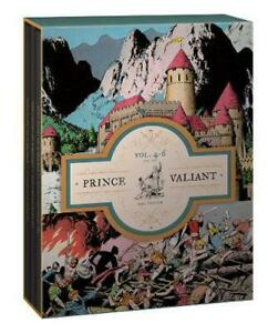 Prince Valiant Volumes 4-6 Gift Box Set by Hal Foster (English) Hardcover Book