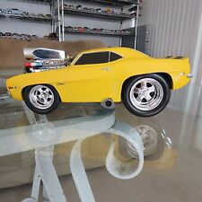 MUSCLE MACHINES 69 CAMARO Z28 DIE CAST CAR 1/18 yellow and black