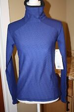 NEW LUCY VELOCITY LONG SLEEVE Women's sweater shirt SODALITE BLUE SIZE SMALL